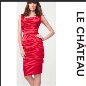 LE CHATEAU Evening Dress - Red
